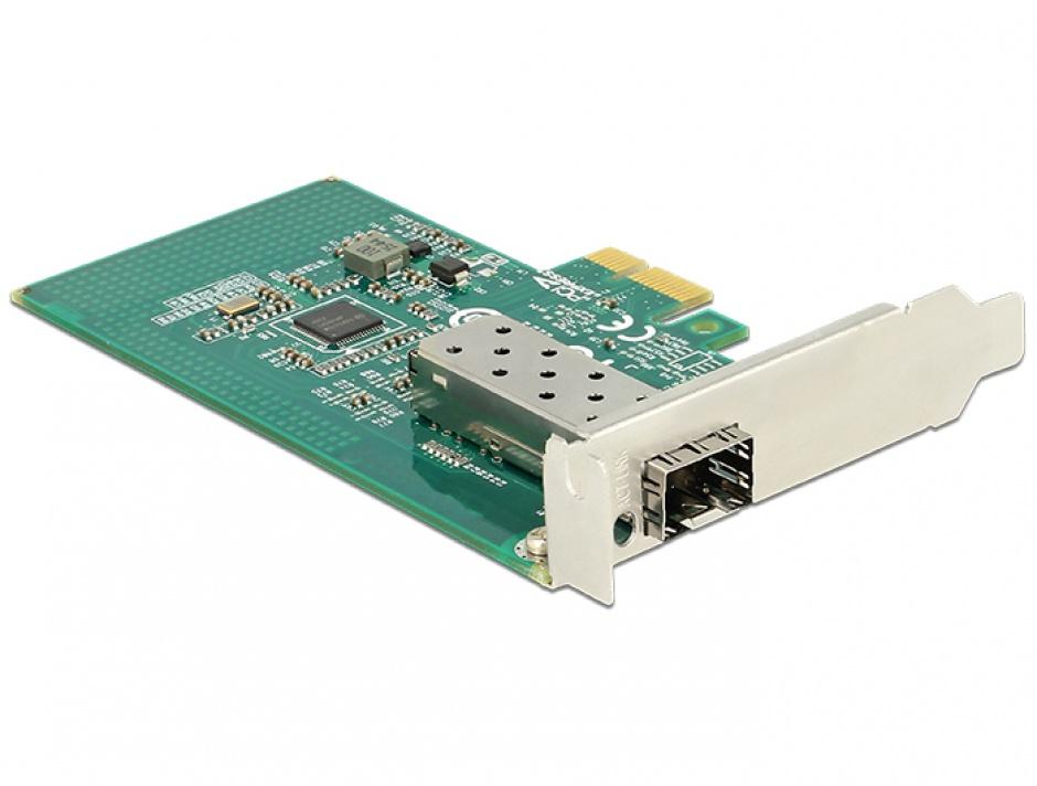Imagine PCI Express Card la 1 x SFP Slot Gigabit LAN, Delock 89481