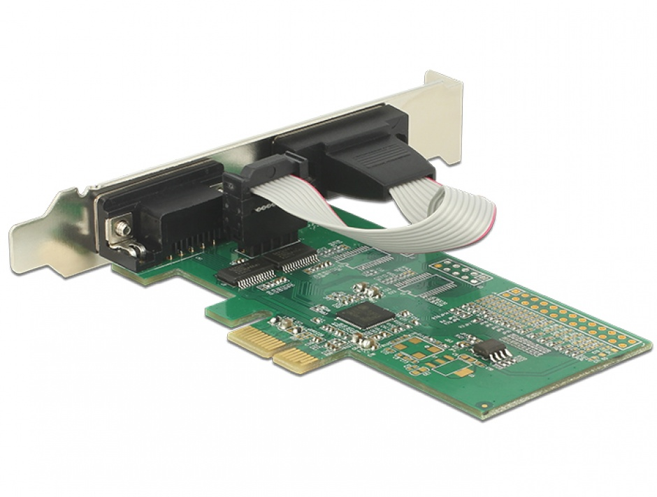 Imagine PCI Express la 2 x Serial RS-232, Delock 89555