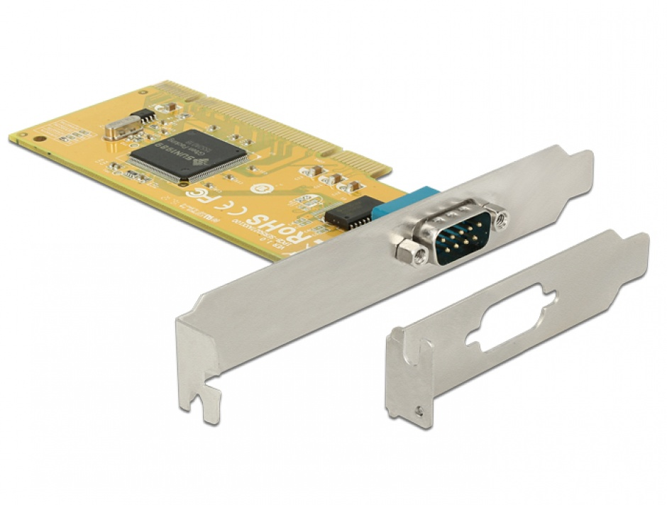 Imagine PCI cu 1 x Serial RS-232, Delock 89592