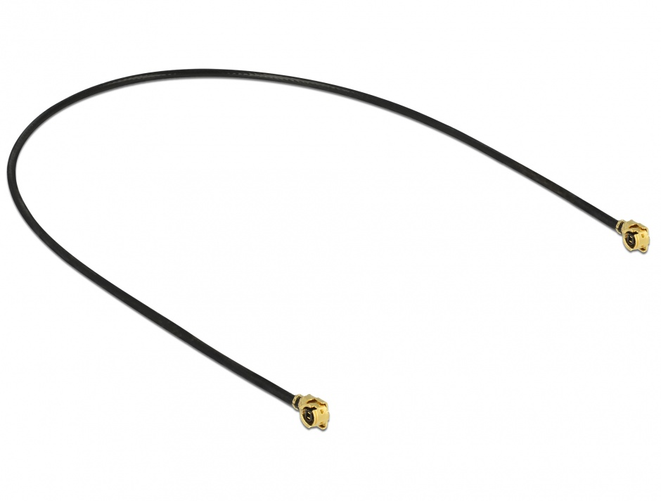 Imagine Cablu antena MHF / U.FL-LP-068 plug la MHF / U.FL-LP-068 plug 20cm 1.13, Delock 89608