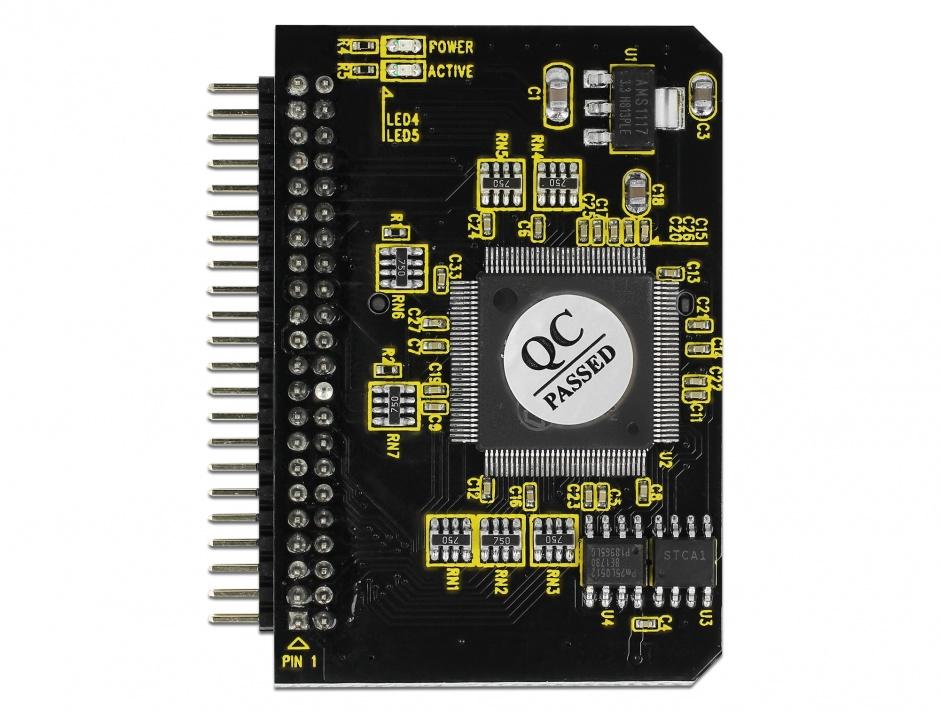 Imagine Convertor IDE 44 pini la card SD, Delock 91664