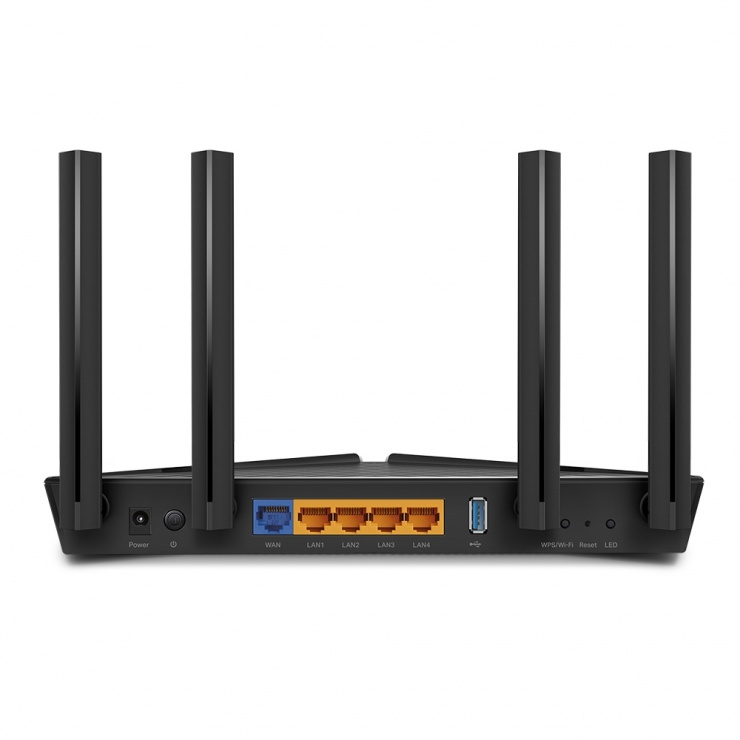Imagine Router Dual Band Gigabit Wi-Fi 6 AX3000, TP-LINK Archer AX50