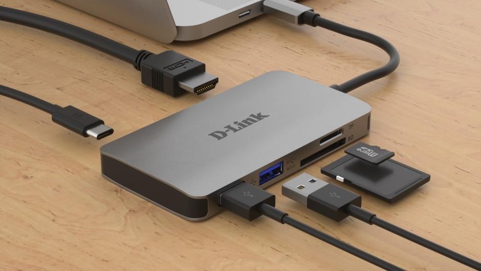 Imagine Docking station USB-C la HDMI 4K, 2 x USB-A, 1 x Quick Charge (BC 1.2), 1 x USB-C (Thunderbolt 3), D