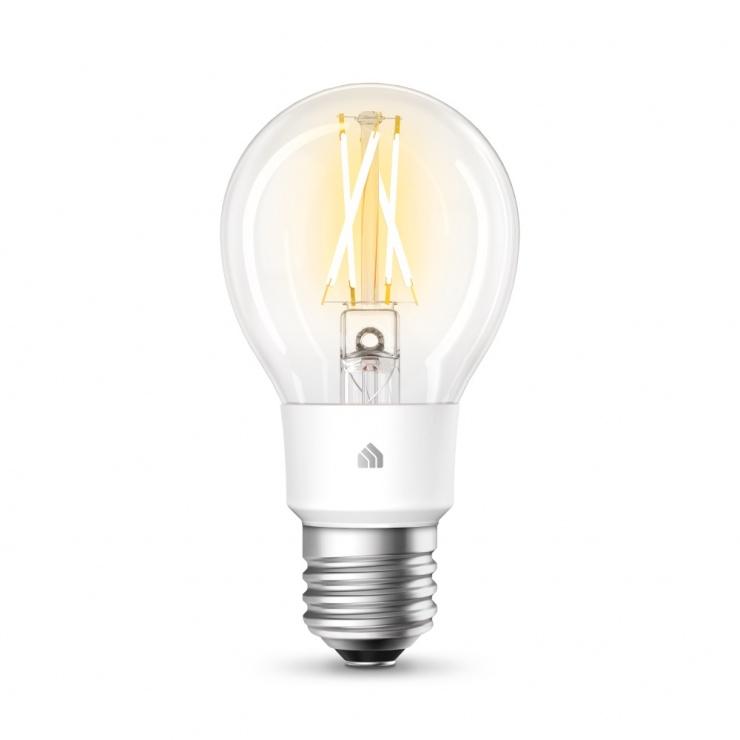 Imagine Bec inteligent Wi-Fi cu filament Kasa Smart LED Alb E27, TP-LINK KL50