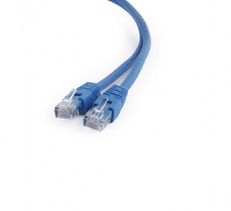 Imagine Cablu de retea RJ45 0.25m cat 6 UTP Albastru, Gembird PP6U-0.25M/B