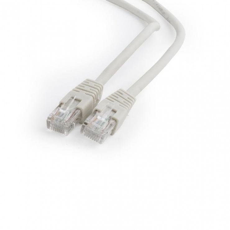 Imagine Cablu de retea RJ45 cat 6 30m UTP Gri, Gembird PP6U-30M