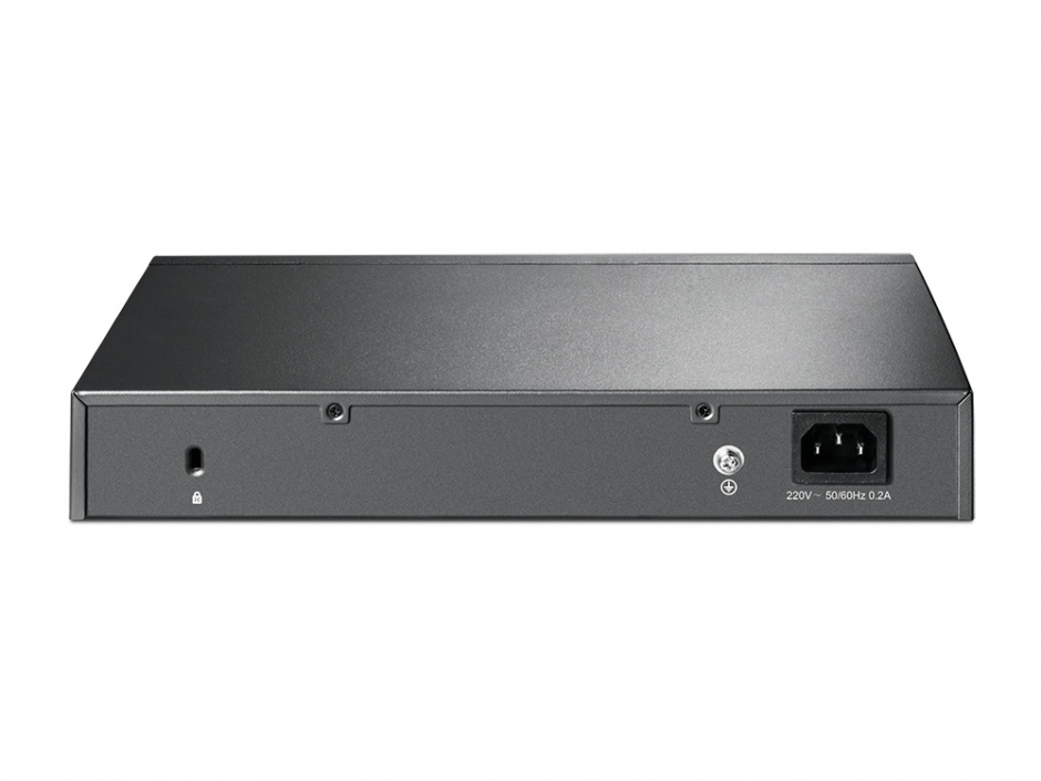 Imagine Switch L2 cu management 8 Porturi 10/100/1000M, 2 slot SFP gigabit, TP-LINK