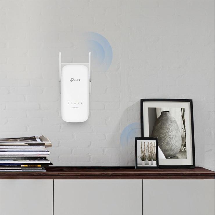 Imagine Kit Powerline AV1300 Gigabit cu Wi-Fi AC, TP-LINK TL-WPA8630KIT