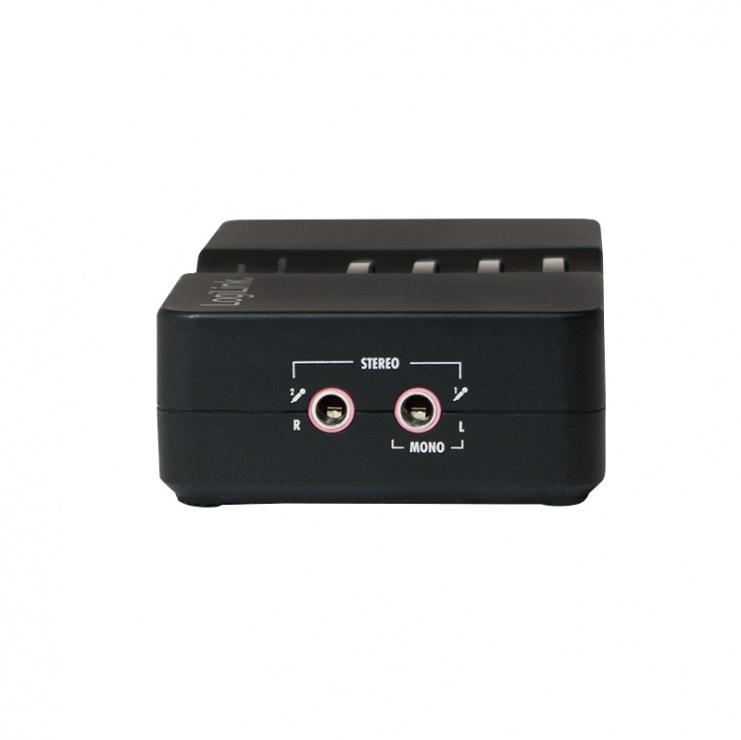 Imagine Placa de sunet externa USB Sound Box, LOGILINK UA0099