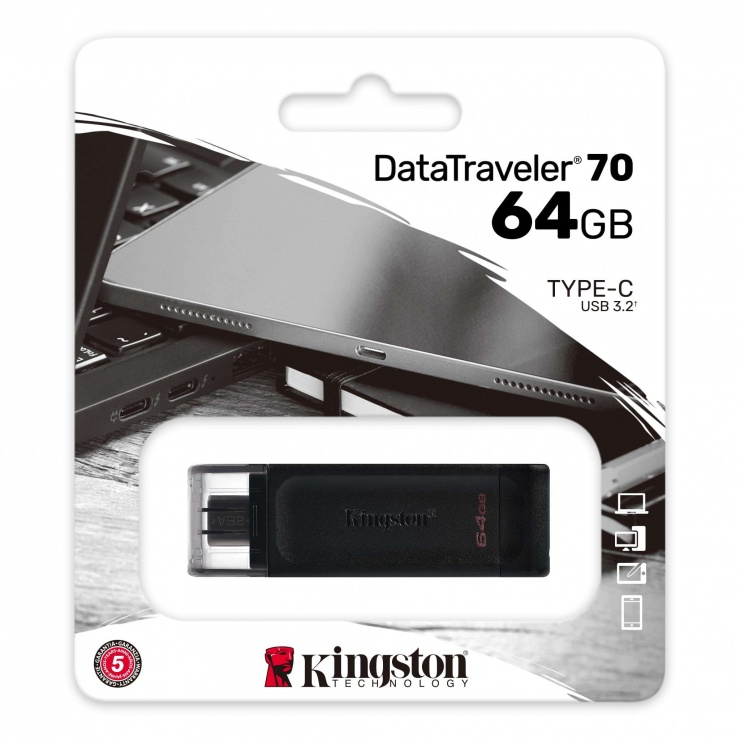 Imagine Stick USB 3.2-C 64GB DataTraveler 70, Kingston