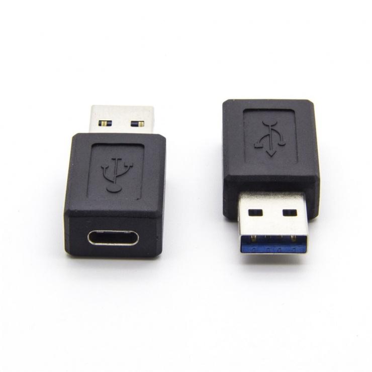 Imagine Adaptor USB 3.0-A la USB tip C T-M