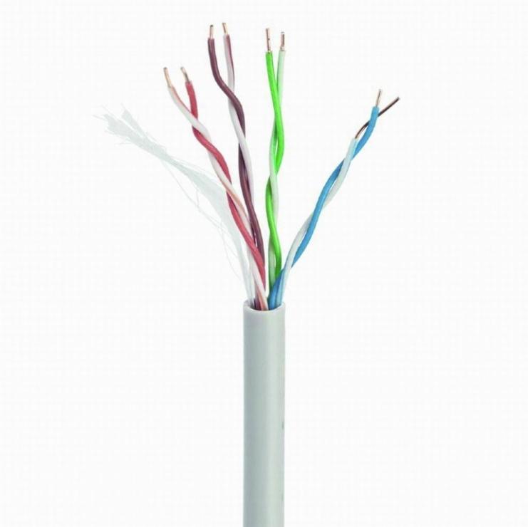 Imagine Rola cablu de retea CAT6 FTP premium CCA 100m, Gembird FPC-6004-SOL/100