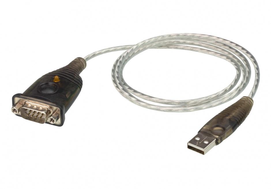 Imagine Cablu USB la Serial RS232 1m, ATEN UC232A1