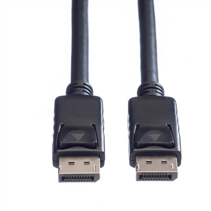 Imagine Cablu Displayport 4K@60Hz T-T TPE 1.5m Negru, Roline 11.04.5981