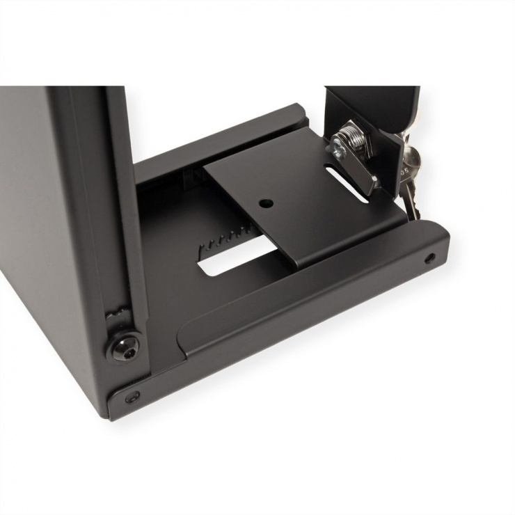 Imagine Suport pentru Slim/Mini PC cu cheie Negru , Roline 17.03.1156