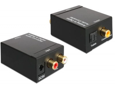 Imagine Convertor audio RCA Analog la Digital S/PDIF, Delock 62443
