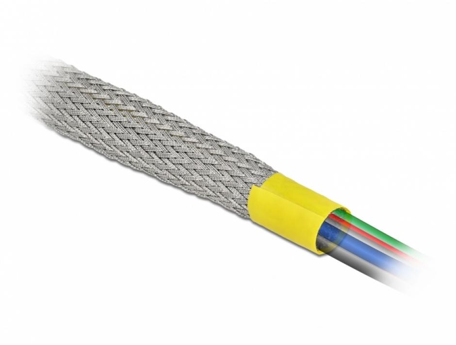Imagine Plasa pentru organizarea cablurilor EMC 2m x 25 mm, Delock 20790