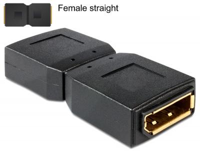 Imagine Adaptor Displayport M - M, Delock 65374