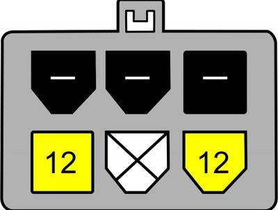 Imagine Cablu alimentare SATA 15 pini la PCI Express 6 pini, Delock 82924 -1