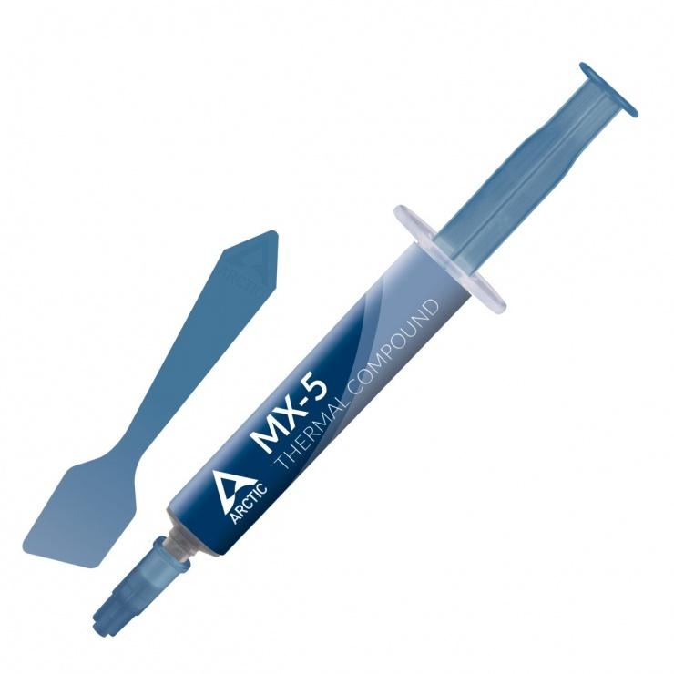 Imagine Pasta termoconductoare cu aplicator, Arctic MX-5 4g