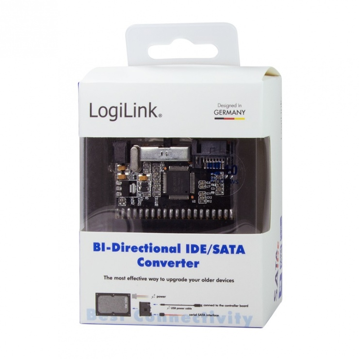 Imagine Adaptor SATA la IDE bidirectional, Logilink AD0008