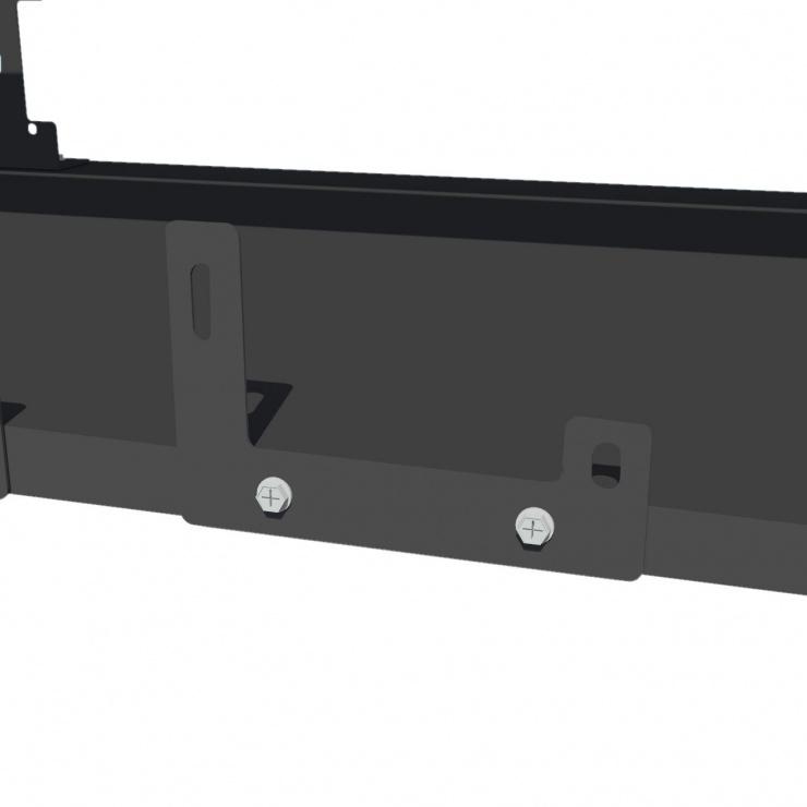 Imagine Suport pentru minat 6 GPU / 2 PSU rig Negru, AKM061