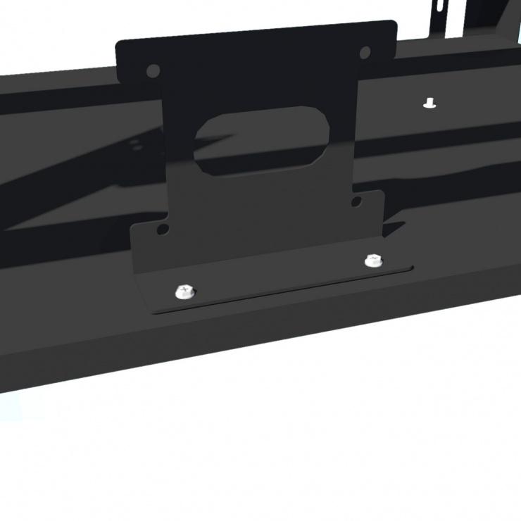 Imagine Suport pentru minat 12 GPU / 4 PSU rig Negru, AKM121