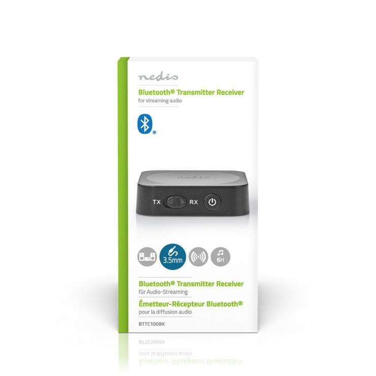 Imagine Wireless Audio Transmitter Receiver, Nedis BTTC100BK