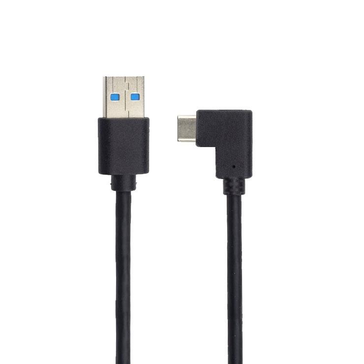 Imagine Cablu MYCON USB 3.2 Gen 1 la USB-C unghi 90 grade T-T 0.5m, CON2000