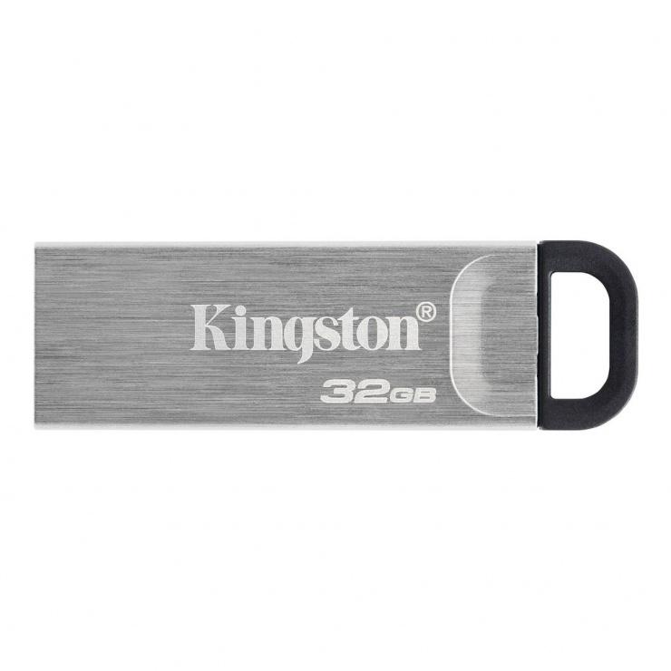 Imagine Stick USB 3.2 DataTraveler Kyson 32GB Metalic, Kingston DTKN/32GB