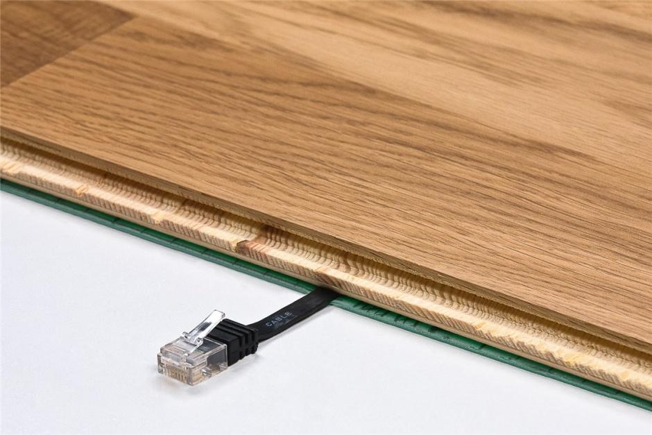 Imagine Cablu de retea RJ45 CAT 6A flat UTP 1m Galben, Goobay 96307