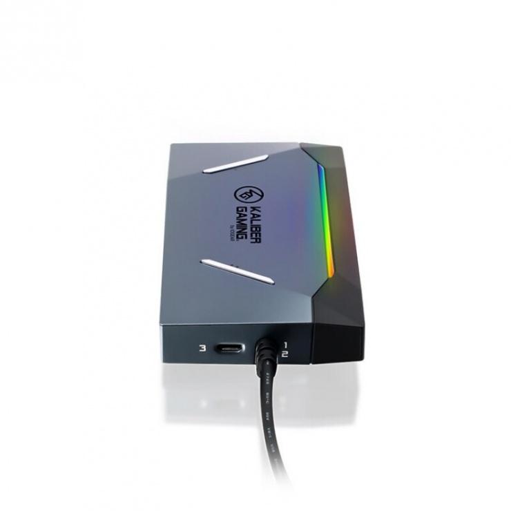 Imagine Sharing Switch IOGEAR Keymander 2 3Play Keyboard/Mouse pentru PC/console, ATEN GES1337