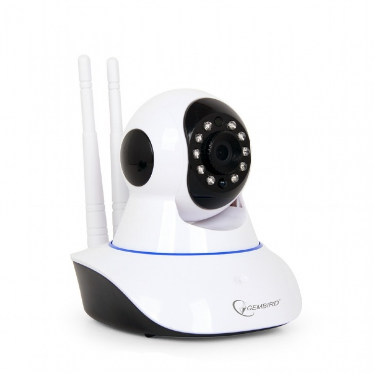 Imagine Camera rotativa HD WiFi, Gembird ICAM-WRHD-01
