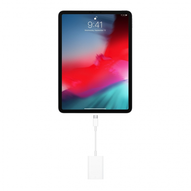 Imagine Cititor de carduri USB type C la SD UHS-II, Apple MUFG2ZM/A