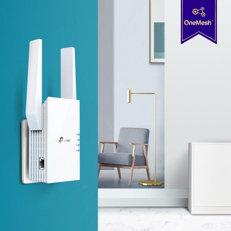 Imagine Range Extender Wi-Fi Gigabit AX1800, TP-LINK RE605X