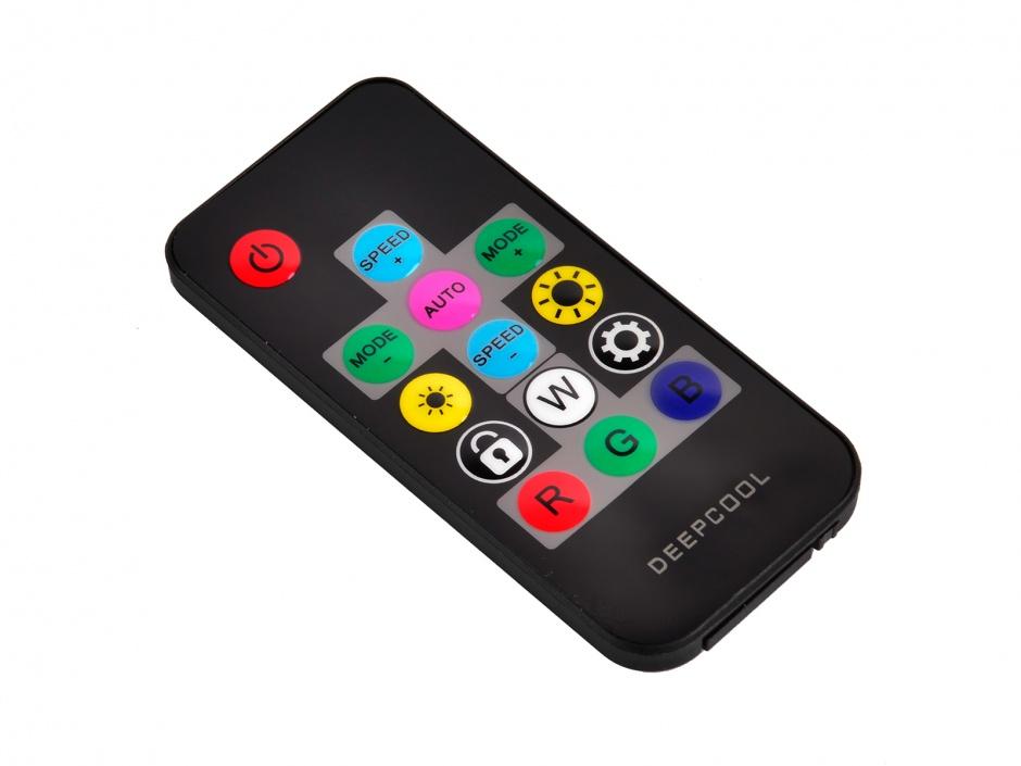 Imagine Banda LED RGB 3 culori 1200mm, Deepcool RGB 380
