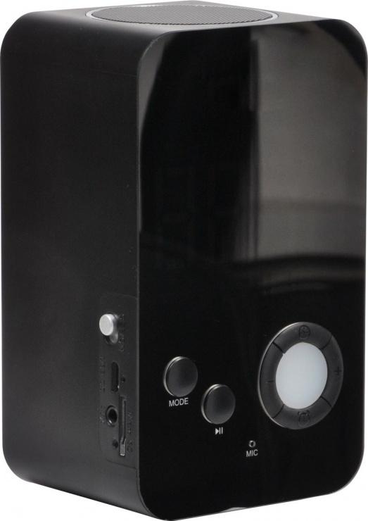 Imagine Boxa portabila bluetooth + functie de ceas + radio FM + slot micro SD, Spacer SP-DY-38