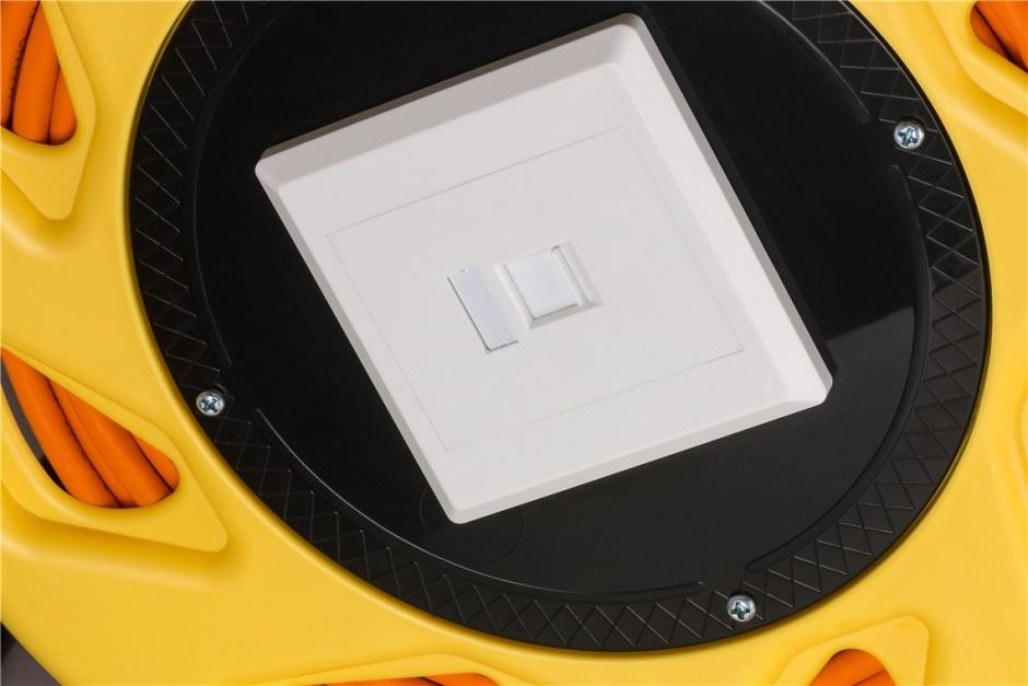Imagine Rola cablu de retea prelungitor cat 7A LSOH SFTP 90m, Goobay 58938
