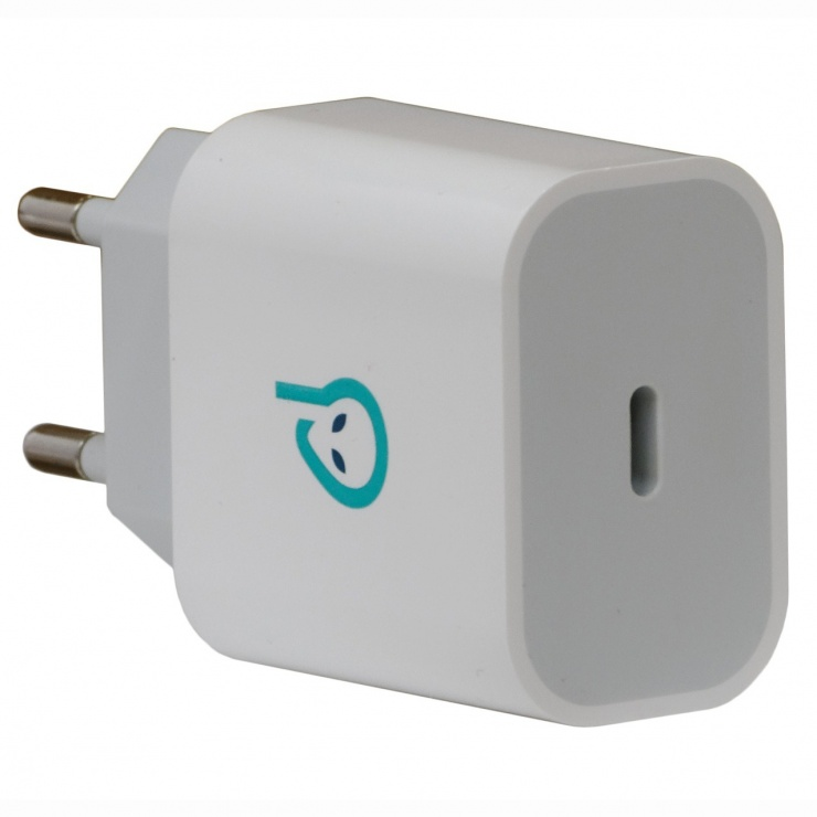 Imagine Incarcator priza 1 x USB-C Quick Charge 3.0 18W, Spacer SPAR-TYPECQ-01