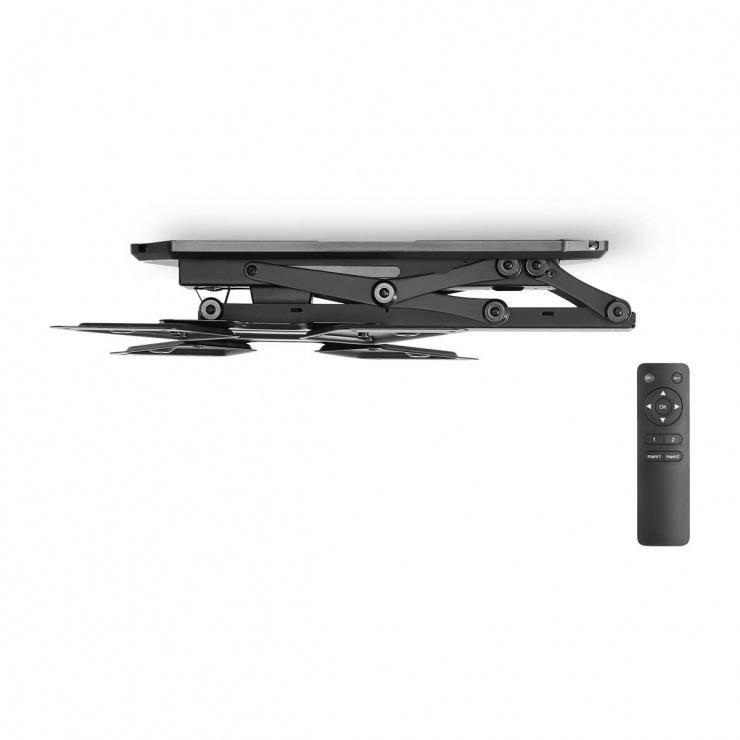 """Imagine Suport TV 23 - 55"""" pentru tavan cu telecomanda, Nedis TVCM5830BK"""