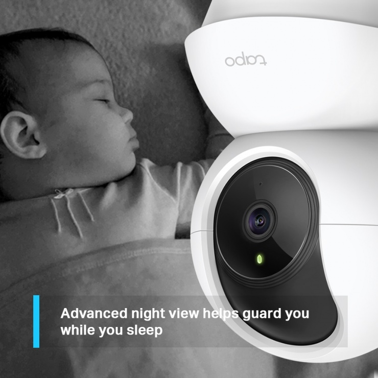 Imagine Camera Wi-Fi Pan/Tilt Home Security, TP-LINK Tapo C200