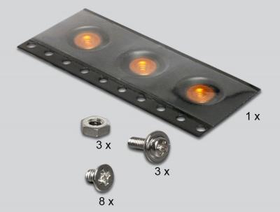 """Imagine Adaptor SATA 22pini la mSATA cu frame 2.5"""", Delock 62432-3"""