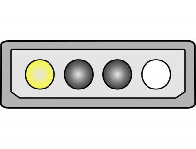 Imagine Cablu alimentare placa PCI Express 6 pini, Delock 82315 - 3
