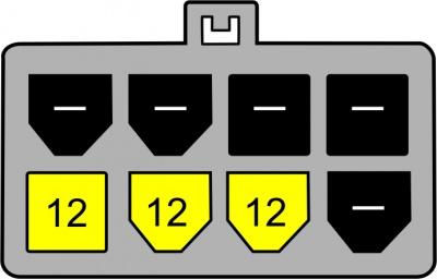 Imagine Cablu alimentare PCI Express 8pini, Delock - 1