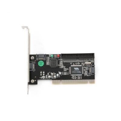 Imagine PCI la 3 x SATA + 1 x IDE intern, Gembird SATA-3