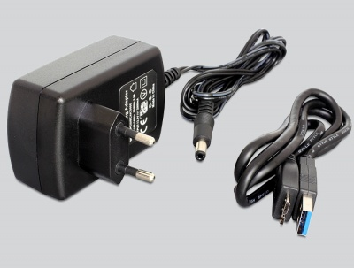 """Imagine Adaptor portabil USB 3.0 la SATA III pentru HDD/SSD SATA 2.5""""+3.5"""", Delock 62486-1"""
