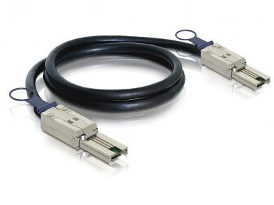 Imagine Cablu mini SAS 26 pin SFF 8088 T-T 1m, Delock 83061-1