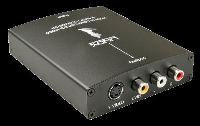 Imagine Convertor HDMI la S-Video/Composite Video & Audio, Lindy L38093-1
