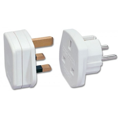 Imagine Adaptor UK la Europa Alb, Lindy L73099-1