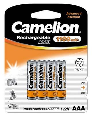Imagine Acumulatori AAA Ni-MH 1100mAh, Blister 4 buc, Camelion